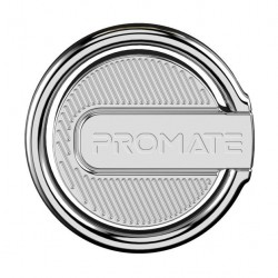 Promate RinGrip-1 Multi-Function Kickstand Ring Mount - Silver