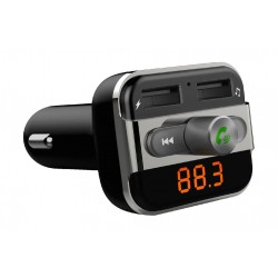 Promate Smartune Multi-Function Wireless In-Car FM Transmitter with Hands-free & Dual USB Ports