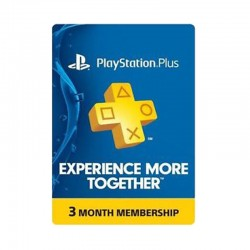 PlayStation Plus 3-Months Membership (U.S. Account)