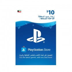 PlayStation Wallet Top-Up $10 (Kuwaiti Account)