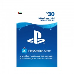 PlayStation Network Kuwait $30 Virtual Gift Card