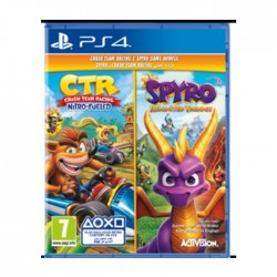 Crash Nitro Racing + Spyro Twin Pack PS4 Game in Kuwait | Buy Online – Xcite