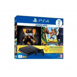 PlayStation 4 Slim 1TB + COD Black Ops + Crash Bandicoot + PSN 1 Month