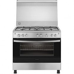 Frigidaire 60X60cm 4 Burner Gas Cooker (FNGB60JGRSO) - Stainless Steel
