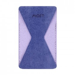 Moft Phone Grip with Wallet - Purple