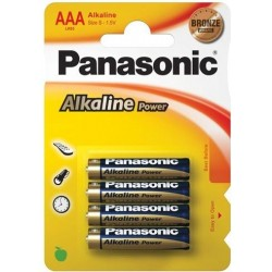 Panasonic LR03TP0/4B AAA Battery