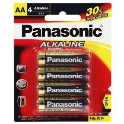 Panasonic LR6TP0/4B AA Battery