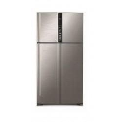 Hitachi 33 CFT Top Mount Refrigerator (R-V990PK1K) - Silver