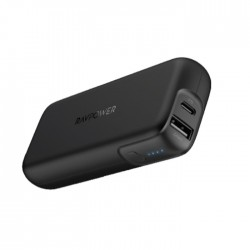 RAVPower 10000mAh PD Pioneer 29W 2-Port Portable Charger - Black