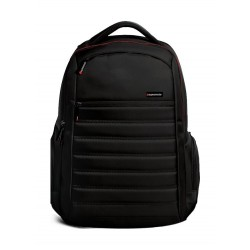 Promate Rebel Premium Heavy Duty BackPack for 15.6-inch Laptop - Black