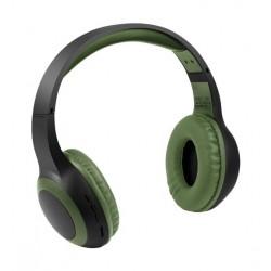 Promate Laboca Deep Bass Over-Ear Bluetooth v5.0 Headphones - Olive Green