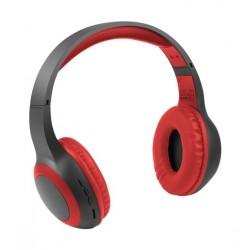 Promate Laboca Deep Bass Over-Ear Bluetooth v5.0 Headphones - Red