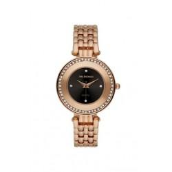 Jean Bellecour 33mm Analog Ladies Metal Watch (REDT24) - Bronze
