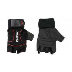 Reebok Large Lifting Gloves (RAGB-11234BK) - Red