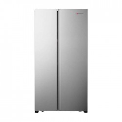 Hoover 18 CFT Side by Side Refrigerator (HSB508-S) – Silver