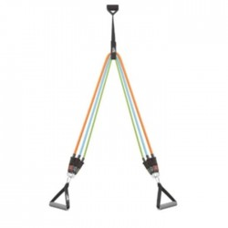Training rope resistance set colorful black core train buy in xcite Kuwait