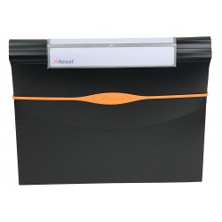 Rexel Optima 13-Part A4 Size Expander File - Black