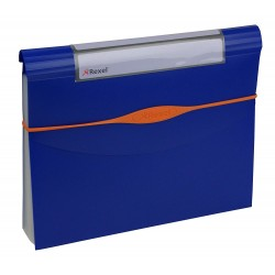 Rexel Optima 13-Part A4 Size Expander File - Blue