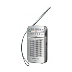 Panasonic Portable FM/AM Radio - Silver