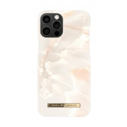 Ideal Of Sweden Stylish iPhone 12 Pro Max Case - Rose Pearl Marble