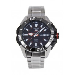 Seiko RP795K Gents Mechanical Analog Watch Metal Strap - Silver