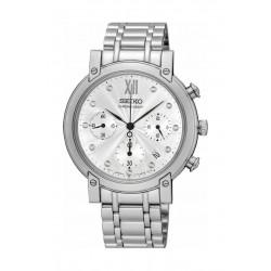 Seiko Watch 35mm Chronograph Quartz Ladies Metal Watch - RW837P