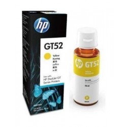 HP GT52 Original Ink Bottle For DeskJet GT Series Printers – Yellow