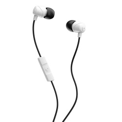 Skullcandy Jib Wired In-Ear Earphone With Mic (S2DUYK-441) - White/Black