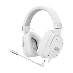 EQ Sades Snowwolf Gaming Headset (SA-722S) - White