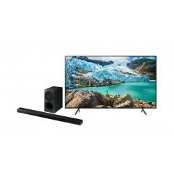 Samsung 58 inches UHD Smart LED TV  + Samsung HW-K550 340W 3.1Ch Bluetooth Soundbar