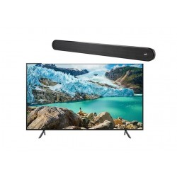 Samsung 43 inches UHD Smart LED TV + Polk Audio Signa Solo Wireless Soundbar