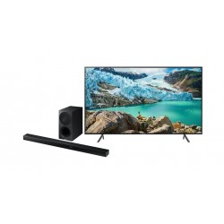 Samsung 55 inches UHD Smart LED TV + Polk Audio Signa 2 Wireless Soundbar