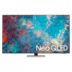 Samsung 85-inch NEO QLED TV large thin silver black buy in xcite Kuwait