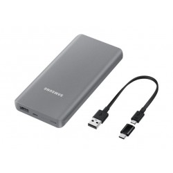 Samsung Battery Pack 10000 mAh With USB Type-C Adapter - Grey