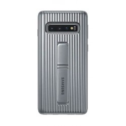 Samsung Galaxy S10 LED Back Case (EF-RG973CSEGWW) - Silver