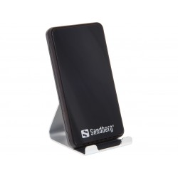 Sanberg Wireless Charger Alu Dock 10W (441-07) - Silver