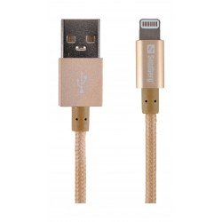 Sandberg 1M Sync and Charge Lightning Cable (480-02) - Gold