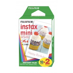 Fujifilm Instax Mini Instant Color Film - 2 x10 Sheets
