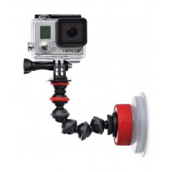 Joby Suction Cup And GorillaPod Arm (JB01329-BWW) – Black/Red