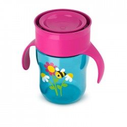 Philips Avent Grown Up Cup 260ml - Pink/Blue – 1 Piece
