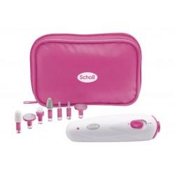 Scholl Travel Manicure & Pedicure Set (DRSP3856PUK1) - Pink