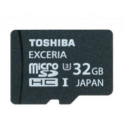 Toshiba Exceria UHS 32 GB Class 10 95Mb/s MicroSD Memory Card - SD-CX64UHS1