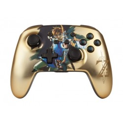 PowerA Enhanced Wireless Controller For Nintendo Switch –  Chrome Gold Zelda