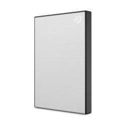 Seagate Backup Plus Slim 1TB External Portable Hard Drive - Silver