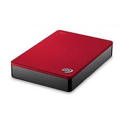 Seagate 5TB 3.0 USB Portable External Hard Drive (STDR2000203) - Red