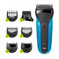 Braun Shave & Style Wet & Dry Shaver (310BT) - Blue