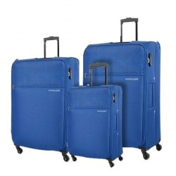 Kamiliant Shifu 3 Set 55+69+80 CM Soft Luggage - Blue