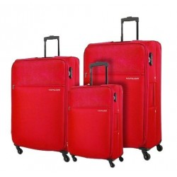 Kamiliant Shifu 3 Set 55+69+80 CM Soft Luggage - Red