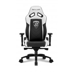 Sharkoon Skiller SGS3 Gaming Chair - Black/White