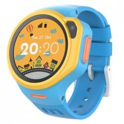 smart watch kids blue camera circular silicone buy in xcite Kuwait